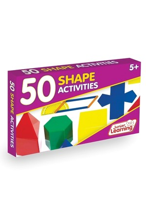 50 Shape Activity Cards