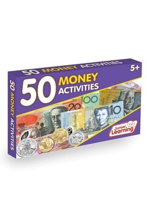 50 Money (AUD) Activity Cards