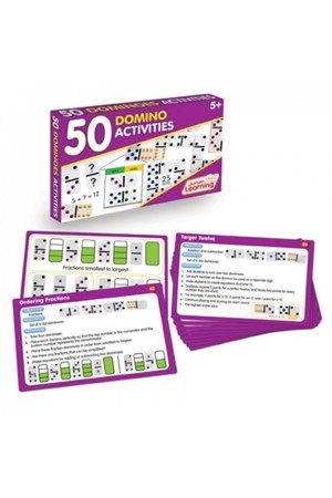 50 Dominoes Activity Cards