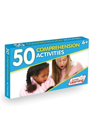 50 Comprehension Activity Cards
