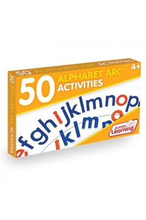 50 Alphabet Arc Activity Cards