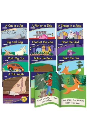 Letters and Sounds (Phase 3) - Decodable Readers (Fiction): Phonics