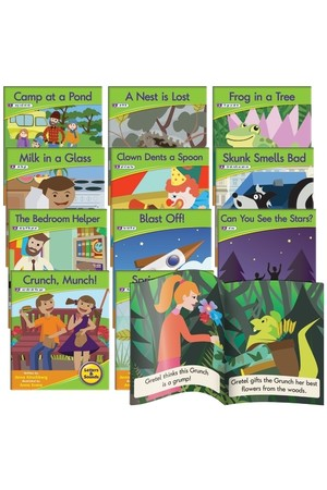 Letters and Sounds (Phase 4) - Decodable Readers (Fiction): Blend