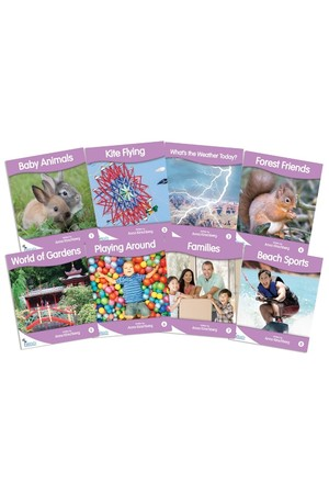 Fantail Readers - Non-Fiction - Lilac (Level 1)