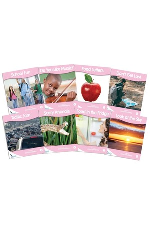 Fantail Readers - Non-Fiction - Pink (Levels 1-2)