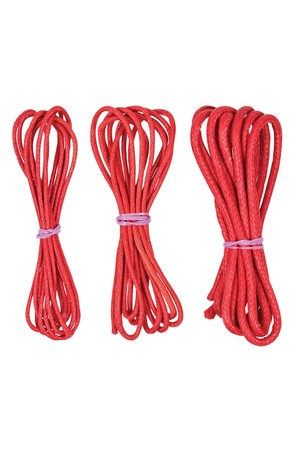 Cotton Jewellery Cord - Red (1m)