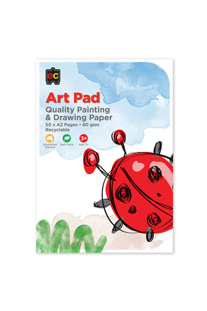 Drawing and Painting Art Pad: Large