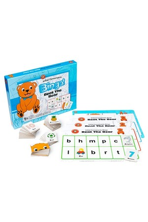Beat The Bear Bingo - Initial Consonants