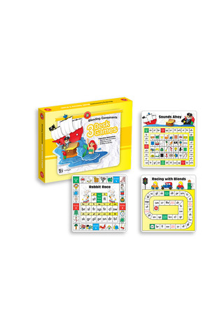 Blending Consonants Desk Games - Box of 3