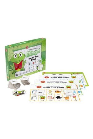 Beat The Frog Bingo - Rhyming Words