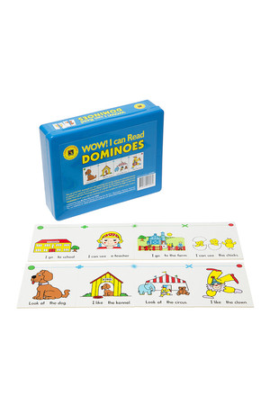 Wow! I Can Read Dominoes - Set 1 Blue