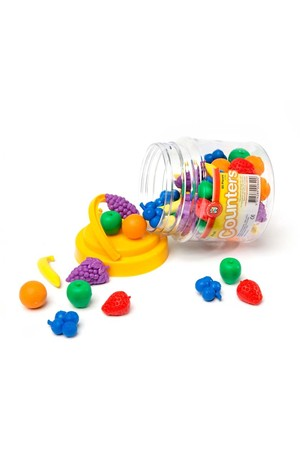 Fruit Counters - Jar of 60