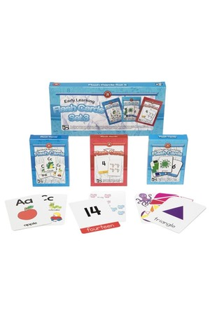 Early Learning Flash Cards (Set of 3)