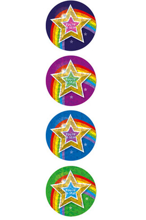 You're a Star Merit Stickers