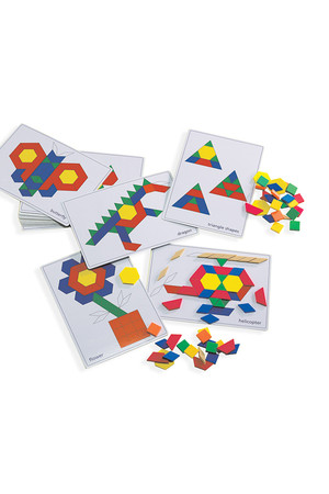 Pattern Block Picture Card Set