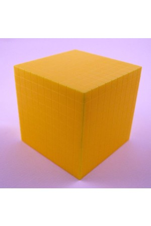 Plastic Base Ten Block