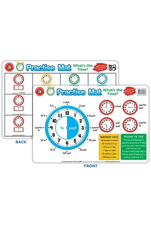 Practise Mat - What's the Time?