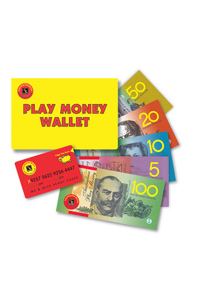 Play Money Wallet Set