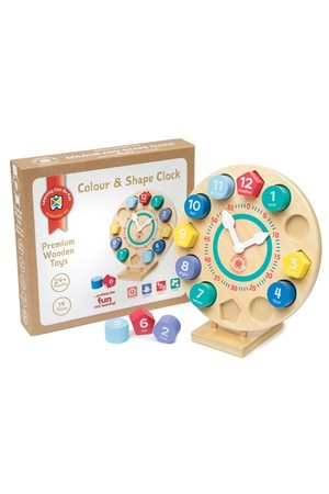 Colour and Shape - Clock