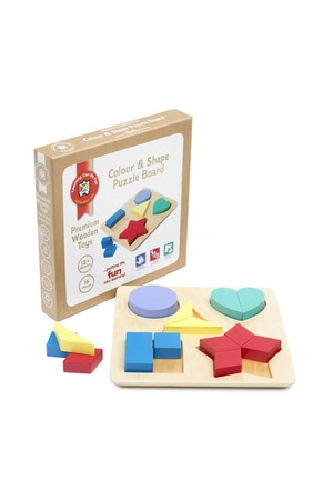 Colour and Shape – Puzzle Board