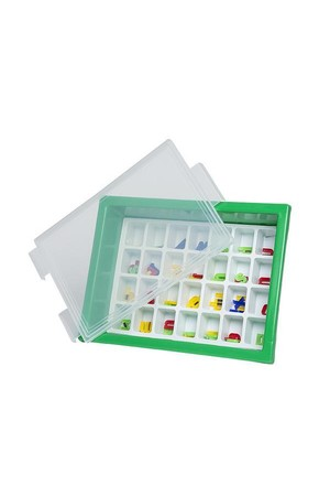Letter Storage Tray Set - Green