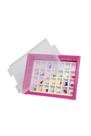 Letter Storage Tray Set - Magenta