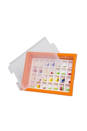 Letter Storage Tray Set - Orange
