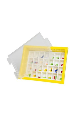 Letter Storage Tray Set - Yellow