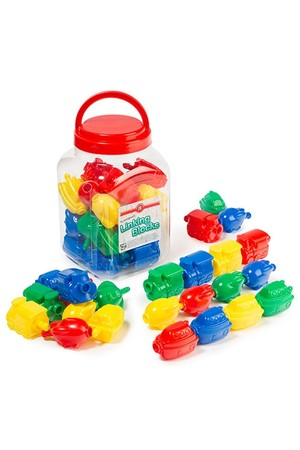 Transport Linking Blocks – Jar of 24
