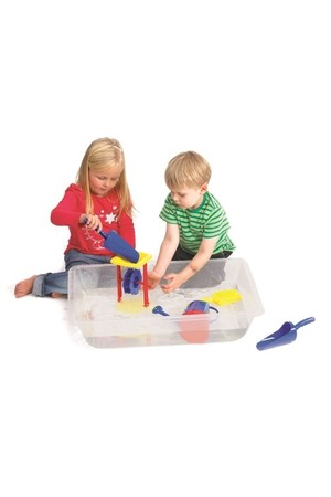 Sand & Water Play Tray - Clear