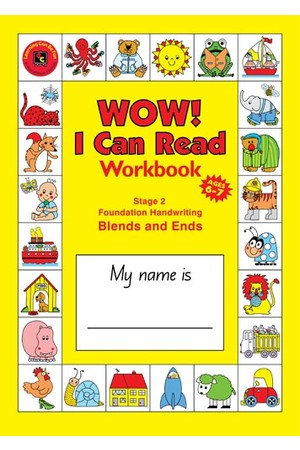 WOW! I Can Read Blackline Master Stage 2 - Blends & Ends: NSW Foundation Handwriting
