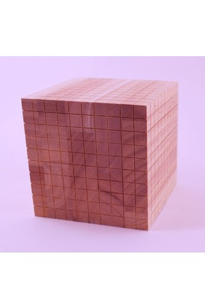 Wooden Base Ten Block