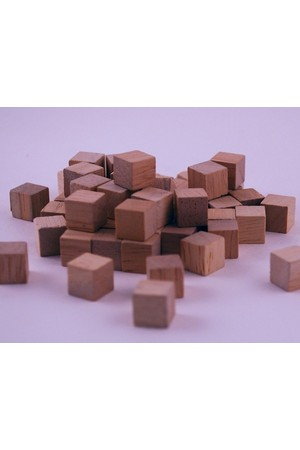 Wooden Base Ten Cubes