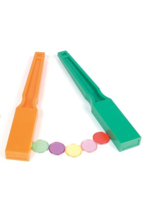 Coloured Magnetic Wands – Pack of 6