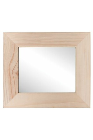 Mirror in Wooden Frame - Acrylic