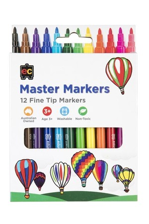 Master Markers – Pack of 12