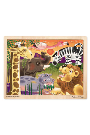 Wooden Jigsaw Puzzle - African Plains