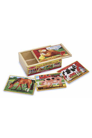 Jigsaw Puzzles in a Box - Farm