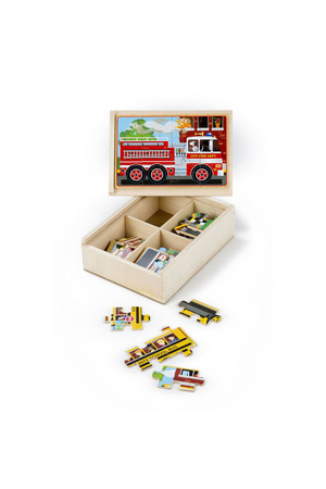Jigsaw Puzzles in a Box - Vehicles