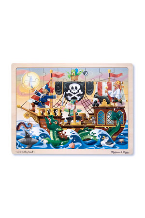 Wooden Jigsaw Puzzle - Pirate Adventure
