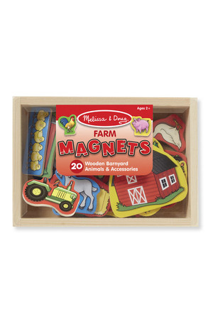 Wooden Magnets - Farm