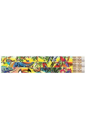 Tropical Rainforest Pencils - Pack of 10