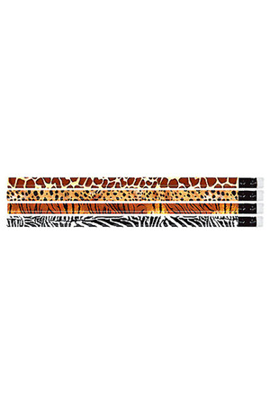 Jungle Safari Pencils - Pack of 10