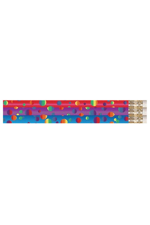 Polka Dots Pencils - Pack of 10