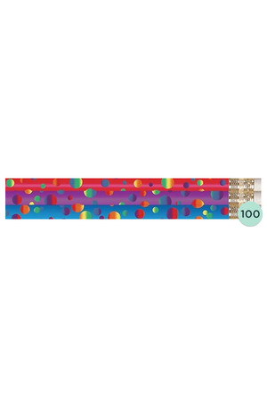 Polka Dots Pencils - Box of 100