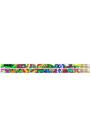 Super Heroes Pencils - Pack of 10