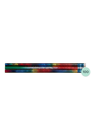 Rainbow Glitz Pencils - Box of 100