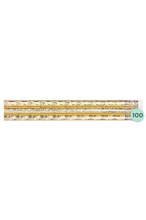 Gold Glitz Pencils - Box of 100