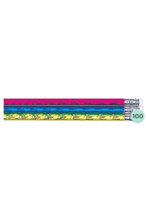 Assorted Glitz Pencils - Box of 100