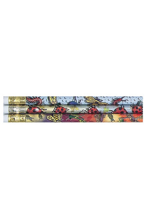 Garden Insects Pencils - Pack of 10